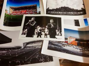 Selection of matchday Aberdeen FC Prints