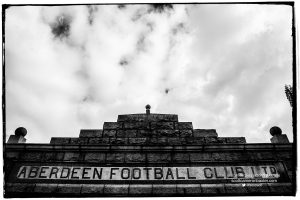 Aberdeen FC Prints Exhibition, Merkland Gate