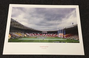 Framed Cup Final Display Print