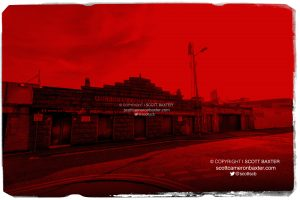 Aberdeen FC Pittodrie Stadium Red on Red series photographs by Scott Baxter