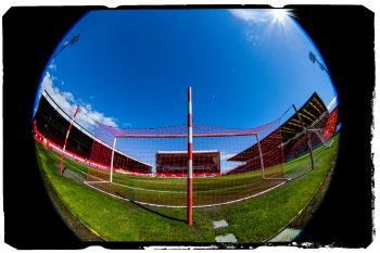 Pittodrie Stadium Fisheye - For Aberdeen Football Club .